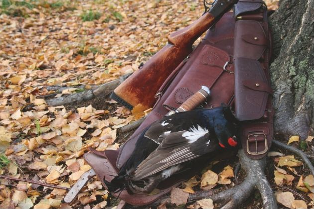 Выбор патронташа для охоты